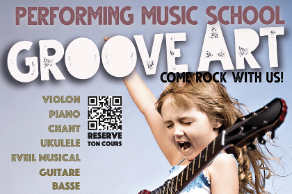 Groove Art - Ecole de Musique Pays de Gex - Flyer 2021