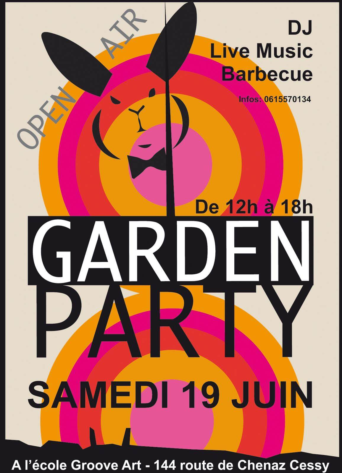 GrooveArt - GardenParty
